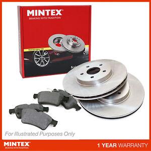 New For Nissan Note E11 1.5 dCi MPV Genuine Mintex Front Brake Disc & Pad Set