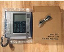 2-Innovage LCD Touch Panel Land Line Phone Speaker Caller ID Calculator Calendar