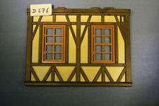 (D676) playmobil pièce mur maison façade chateau ref 3666 3442 3447 3441 3448