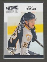 (69654) 2009-10 UPPER DECK VICTORY ROOKIE CODY FRANSON #316 RC