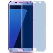 3x PET Folie für Samsung Galaxy S7 Edge Schutzfolie Gebogen Display Panzerfolie