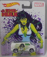KKar Hot Wheels - 2017 Pop Culture - Marvel - Custom 1977 Dodge Van- White