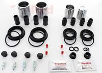 for AUDI A3 2003-2012 FRONT & REAR Brake Caliper Full Repair Kit Pistons (*FK7*)