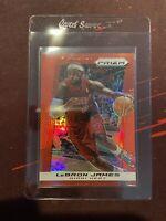 2013-14 Panini Target Red Prizm #65 LeBron James Miami Heat SP