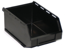 PB17-ECO Small Black Recycled Plastic Storage Bin Pack of 10