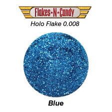 METAL FLAKE GLITTER (0.008) 30G HOLOGRAM BLUE