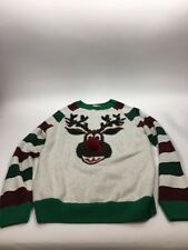 Ugly Christmas Sweater Rudolf US Small NWT