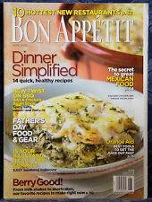 Magazine BON APPETIT, JUNE 2007 !!! BBQ RIBS & CHICKEN, ASIAN STYLE !!!