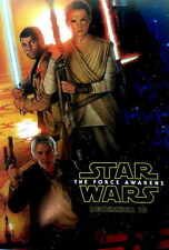 Star Wars: Episode VII - The Force Awakens Film Cinema Poster 27x40 Theater NEW