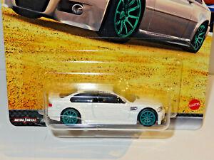 HOT WHEELS PREMIUM FAST & FURIOUS EURO FAST WHITE BMW M3 E46