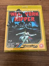 The New York Ripper Shameless Blu-ray Sealed Region B