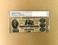South Carolina Columbia 1872 $50 Revenue Bond Scrip CR-15 UNC