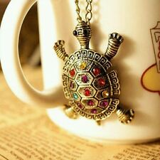 Brand New Cute Little Turtle Long Sweater Chain Pendant Necklace