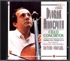 Miklos PERENYI: DVORAK & HINDEMITH Cello Concerto Ivan FISCHER Gyorgy LEHEL CD