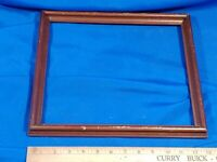 Antique Solid Wood Cherry-Look Small/Medium Picture Frame Art Painting Photo