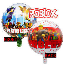 8FT BANNER ROBLOX FOIL LATEX Party Supplies BALLOON DECORATION CAKE CUPCAKE BOX