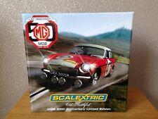 MG Old Faithful MGB 50th Anniversary Limited Edition Scalextric Bnib