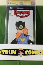 Batman Lil' Gotham #4  CGC 9.8 - original Batgirl art sketch by Ty Tyner