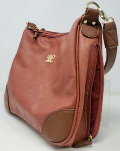 Bulldog Cases Concealed Carry Hobo Purse Holster Handbag Brick Red Tan Trim