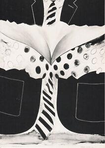 Allen JONES (1937) original sign art card MAN WOMAN 1965 -  NUDE / autograph