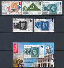 ST HELENA :2006 150th Anniversary of St Helena Stamps set +MS SG972-7+MS978 MNH