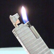 Briquet * DUNHILL Alduna Aldunil en ARGENT * Solid Silver LIGHTER * Feuerzeug