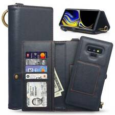 For Samsung Galaxy Note 9 Phone Case Leather Flip Wallet Case Cover Stand Pouch