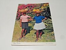 Jamaica Women Fruit Venders 1972 John Penrod NT Co Souvenir Postcard FreePost UK