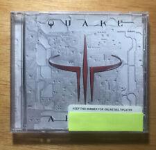 Quake III 3 Arena PC CD-ROM Activision 1999 PC game