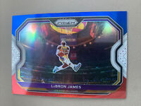 Lebron James 2020-2021 Prizm Basketball Card Red White Blue Kobe Bryant Tribute