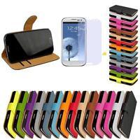 Samsung Galaxy S3 Schutz Hülle Flip Case Handy Tasche Cover Schale Etui GT-i9300