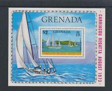 Grenada - 1973, Carriacou Regatta, Sailing sheet - M/M - SG MS572