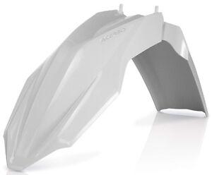 HUSQVARNA FC FE TE ACERBIS FRONT FENDER WHITE 2393390002 SEE LIST BELOW