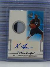 2006-07 Topps Kyle Lowry Rookie Patch Auto Autograph #76/99 Grizzlies T21