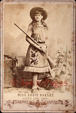 New Art Print 1880s Photo Annie Oakley Cowgirl Sharpshooter WIld West 11X17