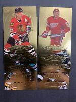 1995-96 Fleer Ultra Gold Medallion Lot X10 No Duplicates