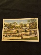 Rose Garden Jacob L Loose Park Kansas City Mo - Vintage Postcard 1939 Postmark
