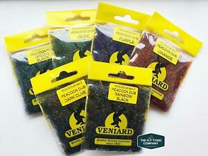 Veniard Peacock Dubbing   All Colours Available   Great for all fly tying