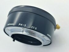 NIKON PK-3 Extender Extension Tube Ring in EXCELLENT condition