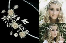 Stunning Bohemian Wedding Head Piece by Flo and Percy