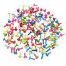 50Pcs Useful Round Brads Scrapbooking Card Stamping Embellishment DIY Crafts