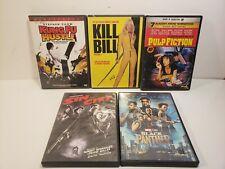 Lot Of 5 Action Dvd Movies Pulp Fiction Kunk Fu Hustle Kill Bill Sin City *