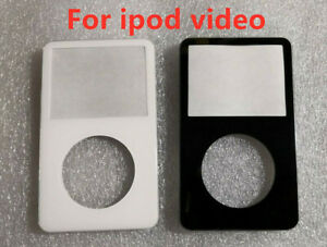 iPod 5th Gen Video 30/60/80GB Front Faceplate Housing Case Cover Black & White