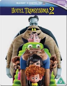 Hotel Transylvania 2 Limited Edition Steelbook Bluray UK Exclusive Region B NEW
