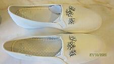 Kate Spade white with rhinestone jewels Keds Sneakers Tennis Walking Shoes sz10
