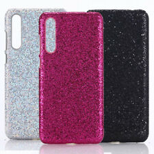 For Huawei P20 P20pro Plus Bling Sparkle Glitter PU Coated hard case cover