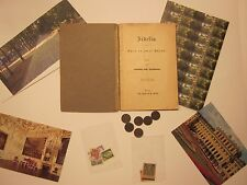 VIENNA ANTIQUES BEETHOVEN  FIDELIO COINS STAMPS CARD MAGNET 35 SOUVENIRS  #7