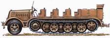 Half-track FAMO 18 T Artillery - Kit résine PLANET MODELS 1/72  N° 046