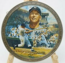 "1996 Bradford Bronx Bomber Mickey Mantle Collectors Plate 6-3/4"" NO RESERVE"