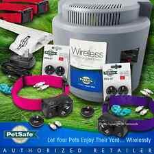 Petsafe PIF-300 Instant Wireless Fence 2 Dog 275 Pink Purple Collar System RFA67